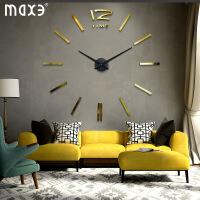 墙面钟 客厅简约现代家居钟饰个性艺术挂钟沙发背景墙上装饰钟表 其他