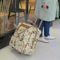 时尚拉杆包旅行包女手提包旅游包男登机箱大容量手拖包行李箱包
