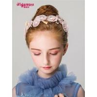 女童发饰公主发带女孩可爱花朵发箍儿童头饰头花花环饰品