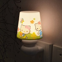 无线遥控小夜灯婴儿用台灯卧室床头宝宝夜间节能夜用暖光房间小灯