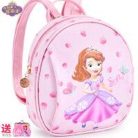 迪士尼儿童公主时尚包女童可爱包包女孩手提迷你小包宝宝双肩背包