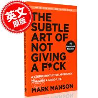 现货 重塑幸福:如何活成你想要的那样 英文原版 The Subtle Art of Not Giving a F*ck