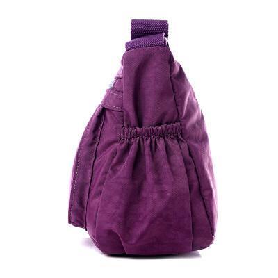 2017新款水洗布女包斜跨包休闲韩版单肩斜挎布包尼龙女士小包包
