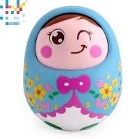 点头不倒翁娃娃婴幼儿宝宝玩具1岁婴儿玩具 0-3-6个月