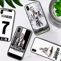 尤文图斯C罗苹果7plus手机壳iphoneX/7/8plus/6s/se/5小米8一加6