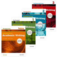 牛津学术英语写作教材 4册套装 英文原版 Oxford Effective Academic Writing 英文版