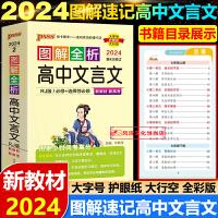 图解速记高中数理化生2020版绿卡图书PASS图解速记 高中数理化生必修选修全彩版图文结合高中数学物理化学生物第7次修
