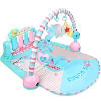 铭塔婴儿健身架32个月宝戏毯玩具0-1岁-6-1脚踏钢琴宝音乐游 抖音