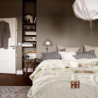 针织毯毛毯盖毯空调毯秋冬毯子办公室午睡毯休闲毯沙发毯装饰毯