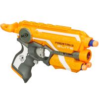 热火精英系列烈焰发射器 玩具枪软弹枪 男孩玩具