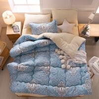 加厚保暖被子2.0m冬被1.5米学生宿舍棉被单双人被芯秋冬被 220x240cm 8斤