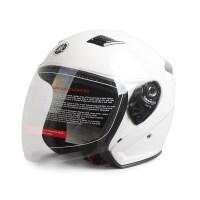雅马哈头盔摩托车电动车头盔男半盔原厂四季款夏天半覆式