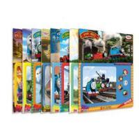 蓝山矿岛的秘密/托马斯与朋友伴我成长拼图 套装8册托马斯和朋友小火车少儿童贴纸益智手工游戏书2-3-6周岁BH