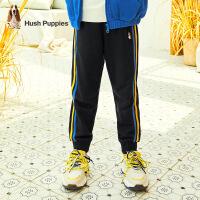 【裸价直降:79元】暇步士童装男童长裤春秋季新款宝宝舒适针织裤子大童洋气运动裤