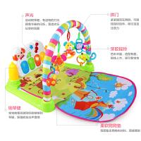 婴儿脚蹬琴音乐玩具儿童健身架器0-1岁男孩新生儿宝宝3-6个月抖音 充电版大号脚踏琴白色+遥控蜜蜂 2429内容