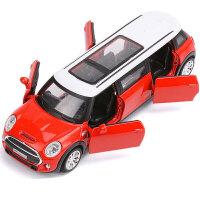 8905B加长迷你MINI玩具车合金模型1:32声光回力跑车礼盒