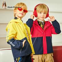 【秒杀价:169元】暇步士童装男童外套春秋装新款中大童上衣儿童休闲薄风衣冲锋衣