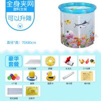 婴儿游泳池家用透明充气宝宝游泳池婴幼儿童保温游泳桶洗澡桶