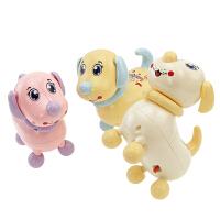 儿童电动玩具音乐小狗会走路唱歌跳舞男孩女孩礼物1-3岁玩具 抖音 2018-01#买一送五 电池自备 官方标配