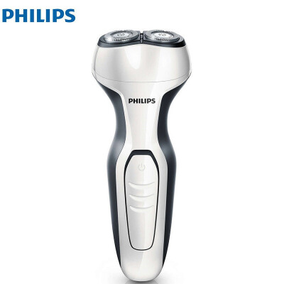 Philips/飞利浦电动剃须刀 S300 双刀头弹性贴面 全身水洗 家电自营