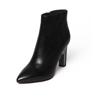 Belle/百丽冬季专柜同款油皮小牛皮女短靴BLI43DD6