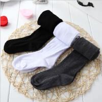春秋儿童连裤袜子打底女童袜婴儿黑舞蹈白宝宝薄款裤加厚裤女