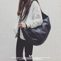 款手提旅行包男单肩休闲运动包女斜挎折叠行李袋健身包训练包SN4910 黑色 少量现货