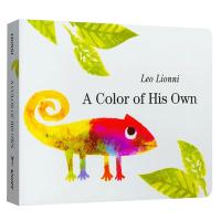 正版现货 吴敏兰书单 自己的颜色 英文原版绘本 纸板书 A Color of His Own 凯迪克奖作者李欧李奥尼