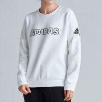 adidas阿迪达斯女子卫衣2018新款运动型格套头衫休闲运动服DV3317