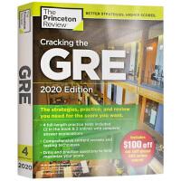 破解GRE考试2020年版英文原版 Cracking the GRE with 4 Practice Tests 20