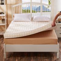 记忆棉床垫加厚席梦思榻榻米床褥1.5m1.8m学生宿舍1.2米海绵床垫 月光白 10cm