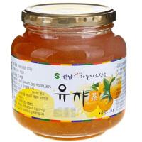 【爆品直降】全南蜂蜜柚子茶1000g(韩国进口 瓶)
