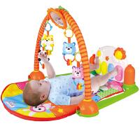 贝恩施脚踏钢琴健身架 婴幼儿早教益智欢乐成长音乐玩具HX9110 新老包装随机发货