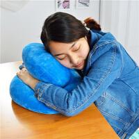 策序家纺 办公室午睡枕趴趴枕趴睡枕小学生午休枕抱枕靠垫枕头睡觉趴睡