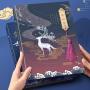 同学录小学生毕业男大号韩国创意唯美初中生女活页通讯录纪念册