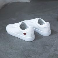 网红小白鞋女秋冬季2018新款百搭韩版基础街拍板鞋平底加绒白鞋子