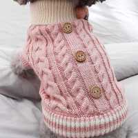 狗狗衣服秋冬装泰迪比熊博美贵宾小型犬幼犬加厚毛衣可爱冬天服饰