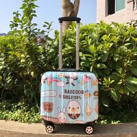 小型行李箱男女拉杆箱韩版旅行箱万向轮密码箱18寸登机箱迷你16寸