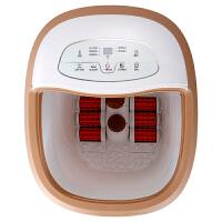 【送一次性医用口罩20片】亚摩斯(AMOS)洗脚足浴盆 自动泡脚桶电动按摩洗脚盆加热足浴器恒温足疗机高深桶 HUAWE