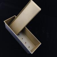 不沾方包面包土司盒450g1000g1200克不粘吐司盒带盖烤箱模具商用Cn