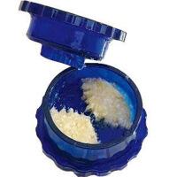 新品 创意家居厨房日用品百货小商品捻蒜盒蒜泥器捻蒜器蒜器压蒜器 图片色
