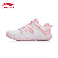 李宁羽毛球鞋女鞋新款耐磨防滑低帮运动鞋AYTN024