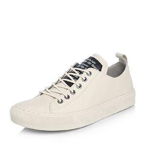Teenmix/天美意2018春专柜同款牛皮字母系带鞋男休闲鞋2GD01AM8