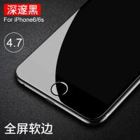 iPhone6钢化膜苹果6s防窥膜6plus全屏覆盖6sp防窥防偷看4.7