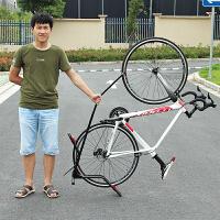 山地自行车停车架L型插入式停车架维修架公路车立式展示挂架配件