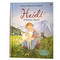 Heidi 英文原版 Usborne经典儿童文学系列:海蒂 原文无删减 全彩插图版 精装
