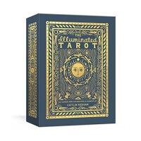 彩色塔罗牌:占卜和游戏53张卡片【现货】英文原版The Illuminated Tarot: 53 Cards for Divination & Gameplay