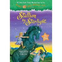 Magic Tree House #49: Stallion by Starlight 英文原版儿童书 神奇书屋49:月
