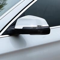 专用于宝马5系改装 后视镜贴 1系2系3系GT4系X1X3X5X6倒车镜亮条