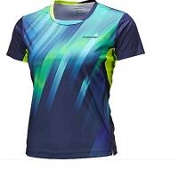 KAWASAKI川崎羽毛球T恤 女式川崎女子专业羽毛球T恤ST-16225绿